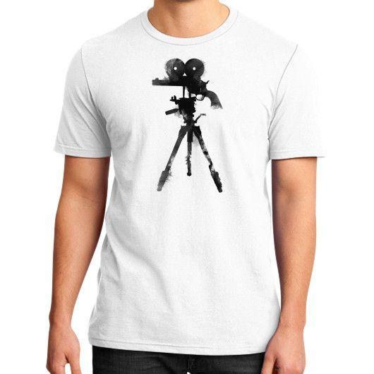 Shoot camera District T-Shirt (on man)