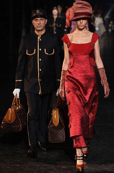 Louis Vuitton - Diseños inspirados en los tiempos del transporte en ferrocarril