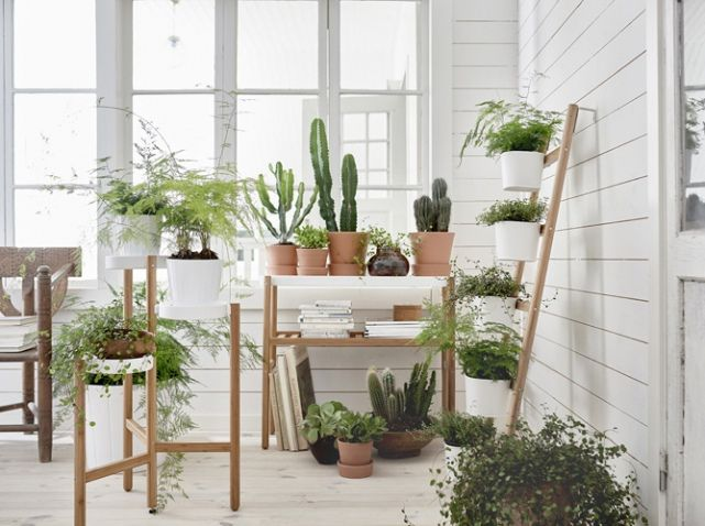 ikea support pour plante