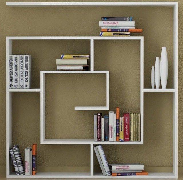 Model Desain Rak Buku Minimalis | Rak buku, Rak, Desain