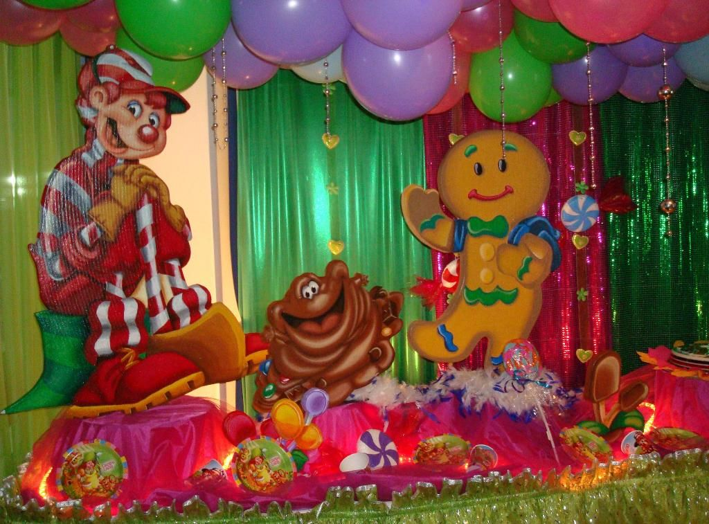Candyland Party Ideas Part - 18: Diy Candyland Party Decorations - Google Search