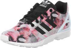 new styles 6d61e f5781 Adidas ZX Flux flower!