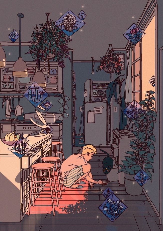 The Witchs Son By Anna Pan In 2019 Apartment Art Drawings Illustration Art