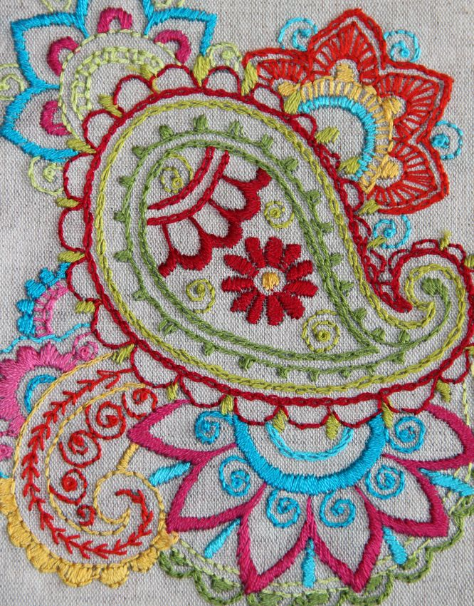 Paisley Embroidery Paisley In 2018 Pinterest Paisley