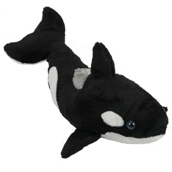 Stuffed Orca 15 Inch Plush Killer Whale By Fiesta Animals Of The