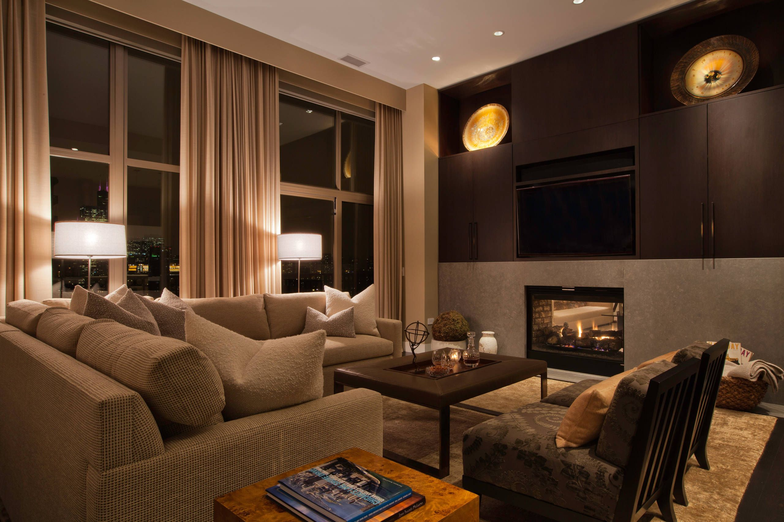 26 Gorgeously Beautiful Family Room Designs home