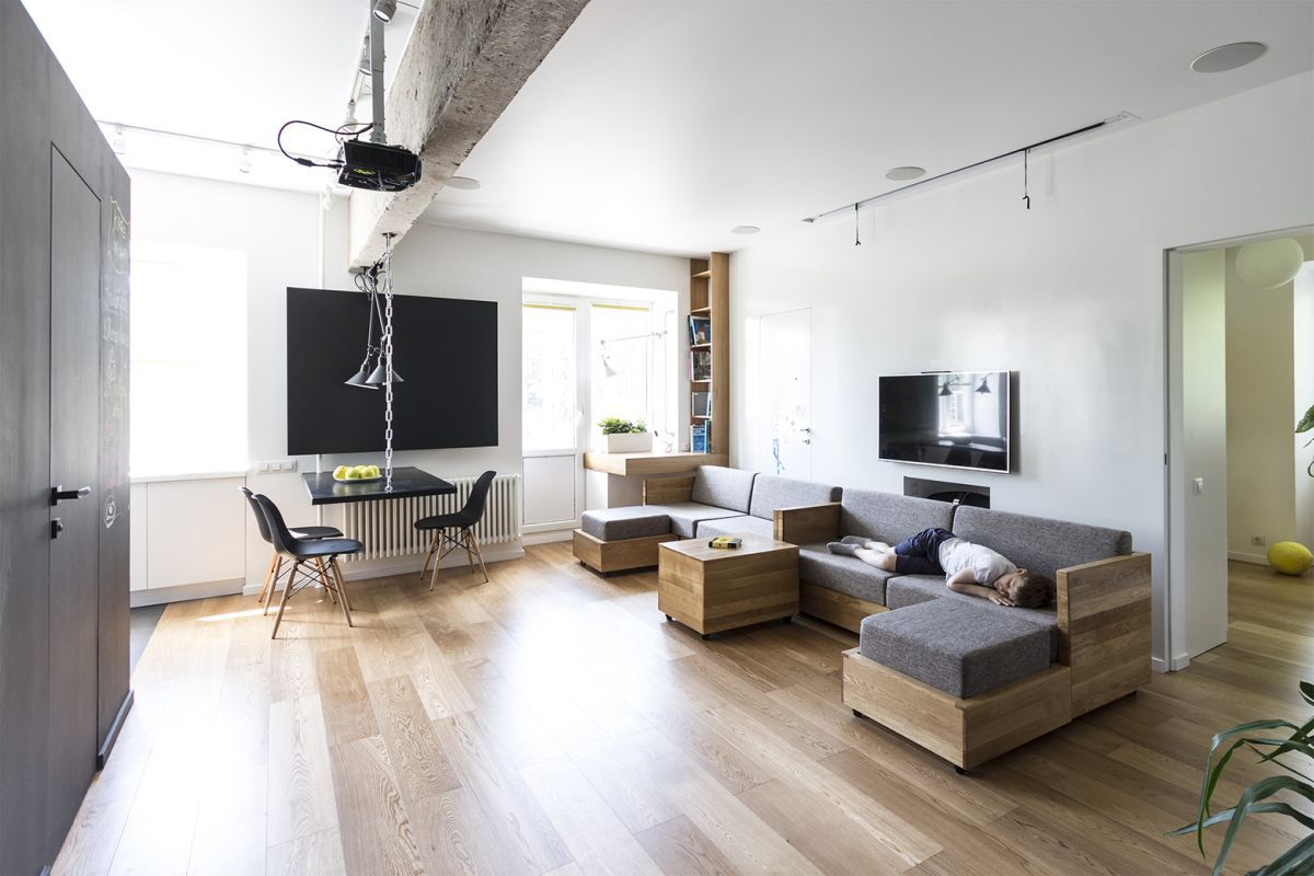 Flexible Family Apartment Full Of Original Design Solutions | studio ...