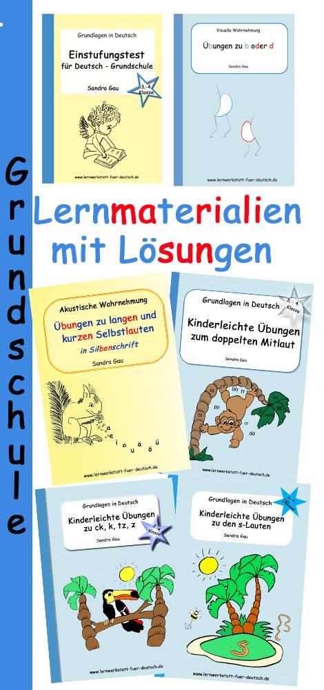 Übungen zur Rechtschreibung, zum Verwechseln von Buchstaben, zum ...