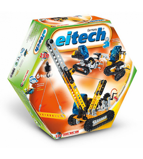 Eitech Beginner 3Models Crawler Vehicles Construction Set