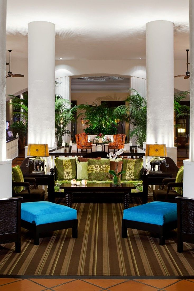 The 251 Room Palms Hotel And Spa Is Set On The Sands Of Miami