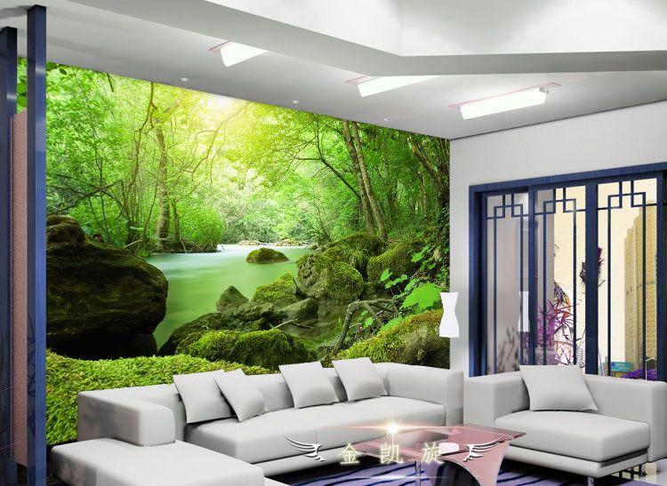 3d three dimensional stone mural wallpaper sofa tv background