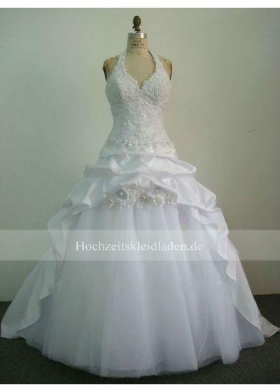 Neckholder spitze Rabatt Hochzeitskleid für Herbst und Winter