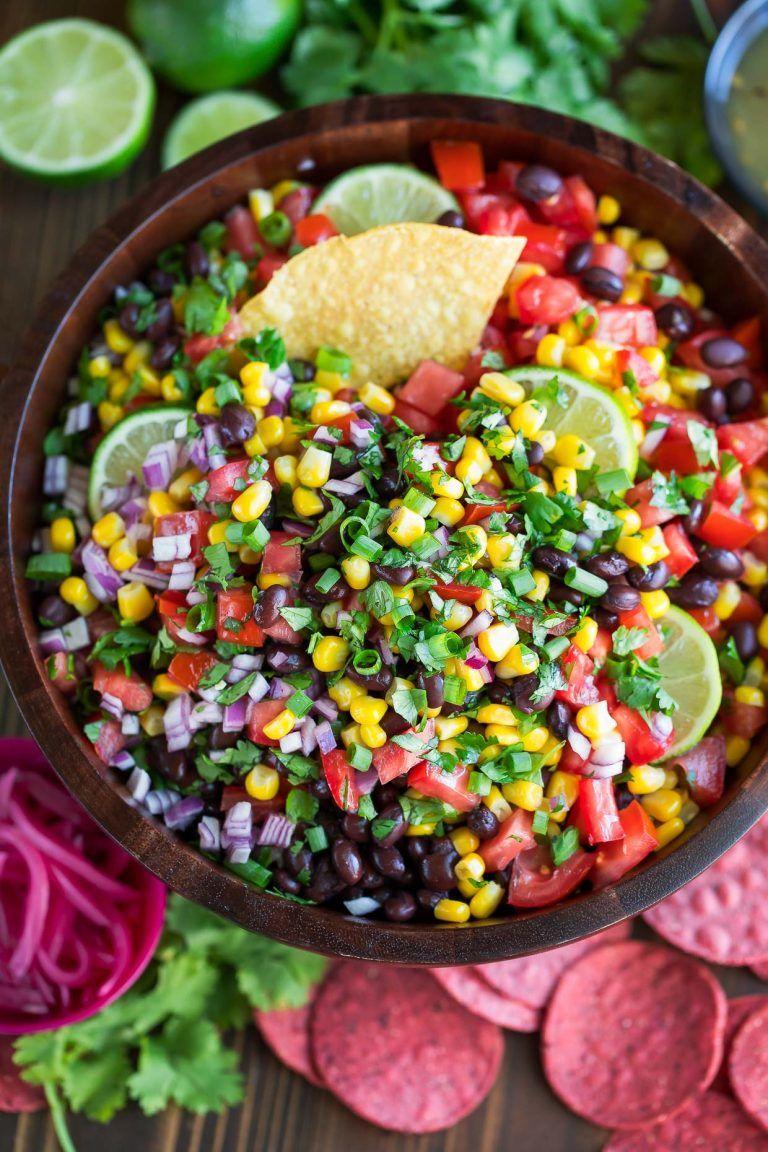 Black Bean Salsa Recipe   Peas and Crayons   Recipe ...