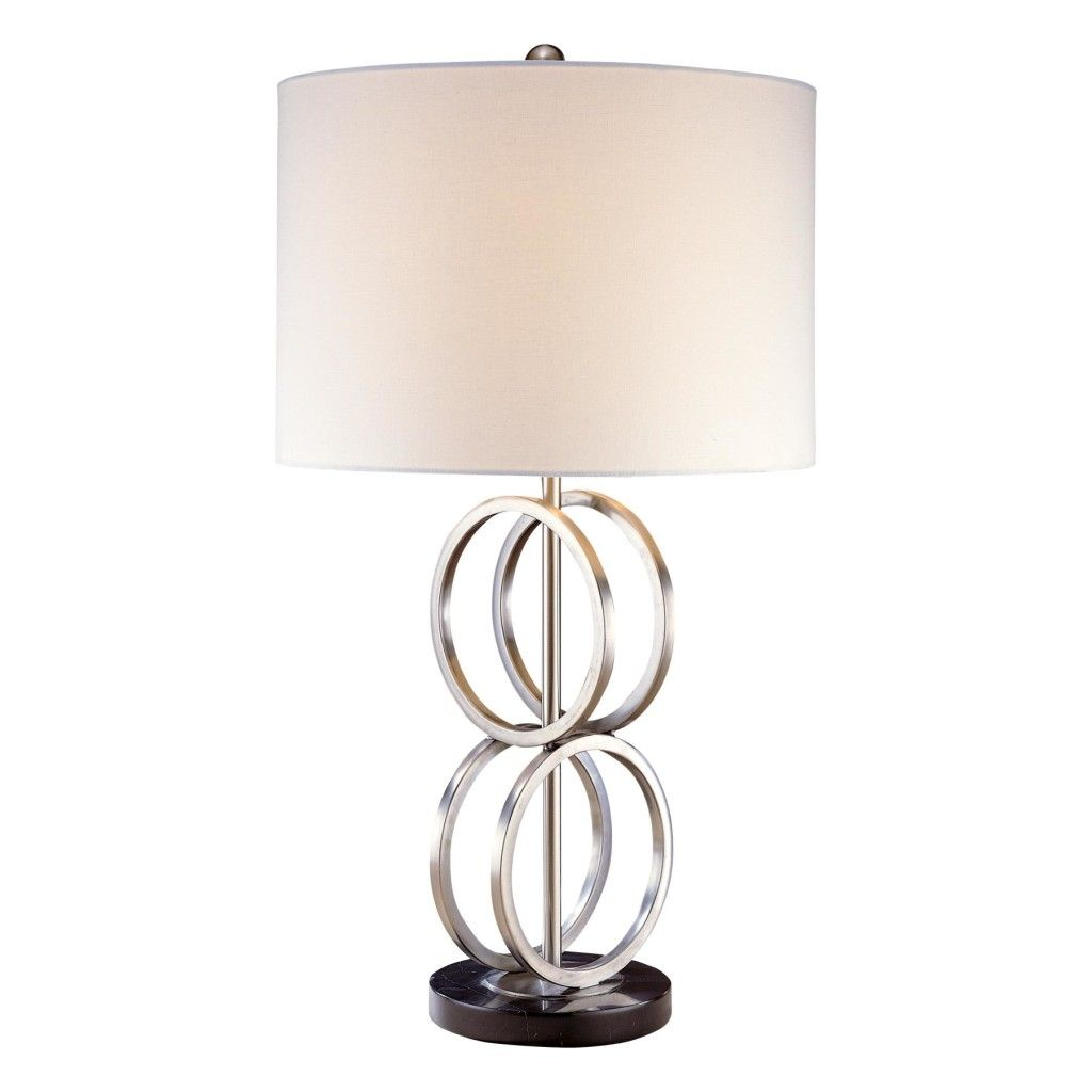 lamp brushed kichler table new lamps nickel traditions
