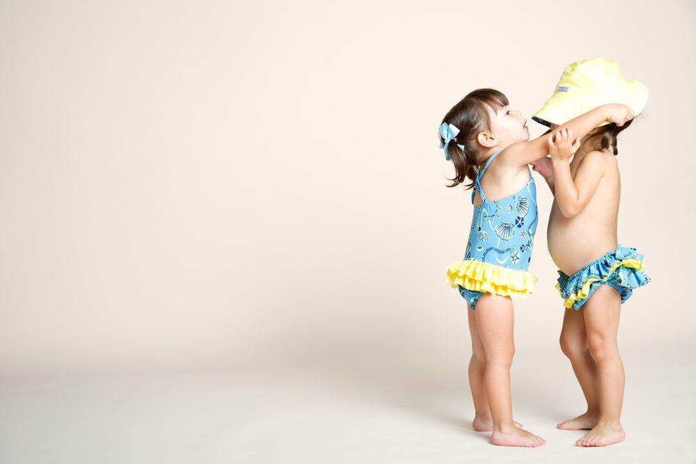 Una colección de trajes de baño para niños con un look playero y fresco, perfecto para la temporada! Pamela de Haro, Pameladeharo