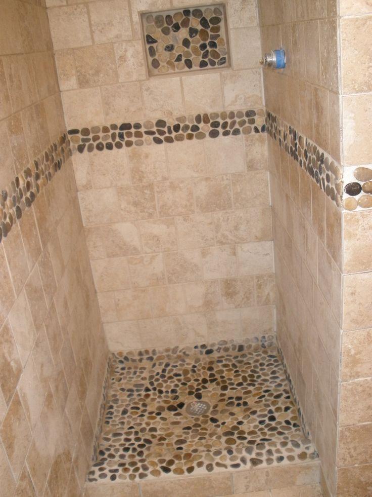 Shower Stall River Rock Home Ideas Rooms Bath Photos Bathroom Bathroom Shower Stalls Shower Stall River Rock Shower