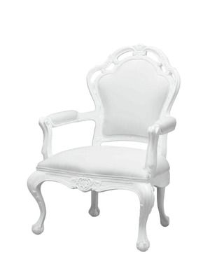 White Outdoor Lounge Chair By POLaRT. These Just Make Me Happy!!