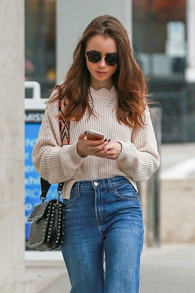 Lily collins casual, Lily collins style