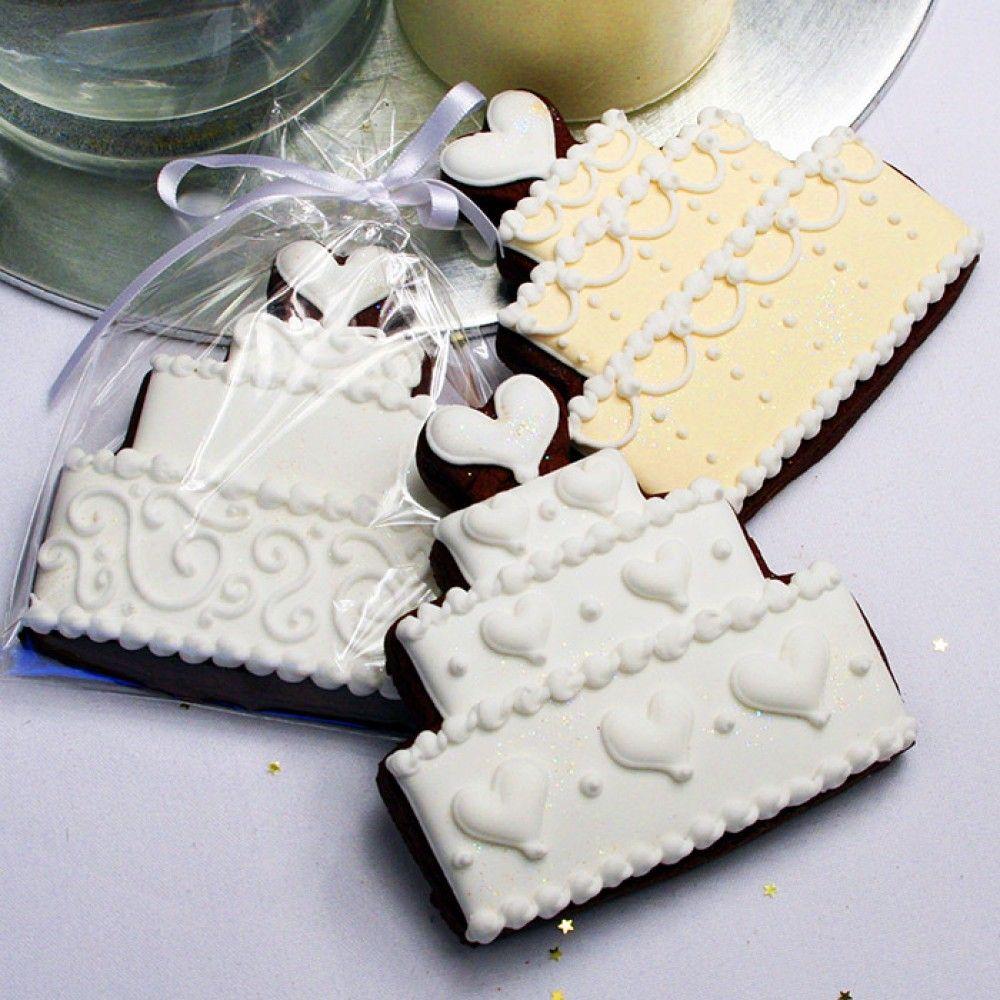 Large Wedding Cake Cookie Favour   cookies   Pinterest   Wedding ...