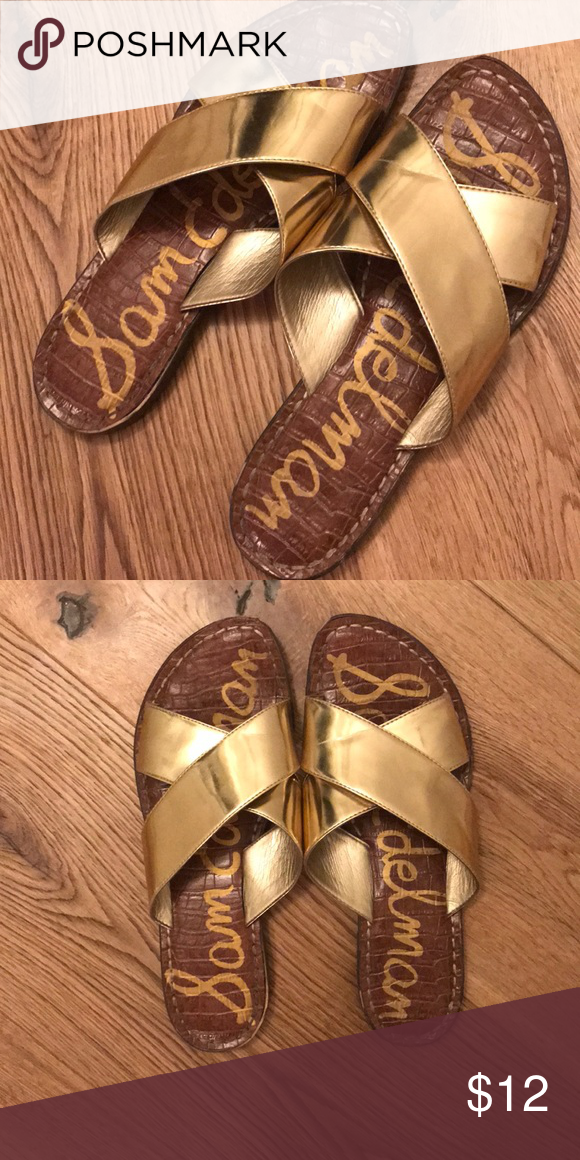 f185b8d3a Sam Edelman Kora Sandals Some slight wrinkling on the straps and some wear  on the bottoms but a lot of life left! Sam Edelman Shoes Sandals