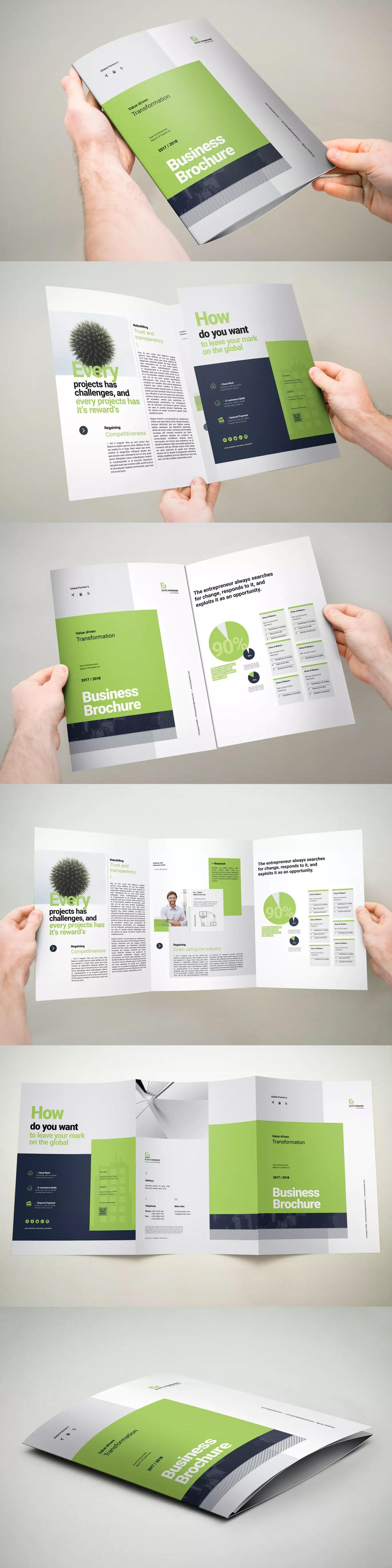 3xa4 Trifold Brochure By Ashuras Sharif On Envato Elements Trifold Brochure Brochure Design Template Brochure Template A4 tri fold brochure template