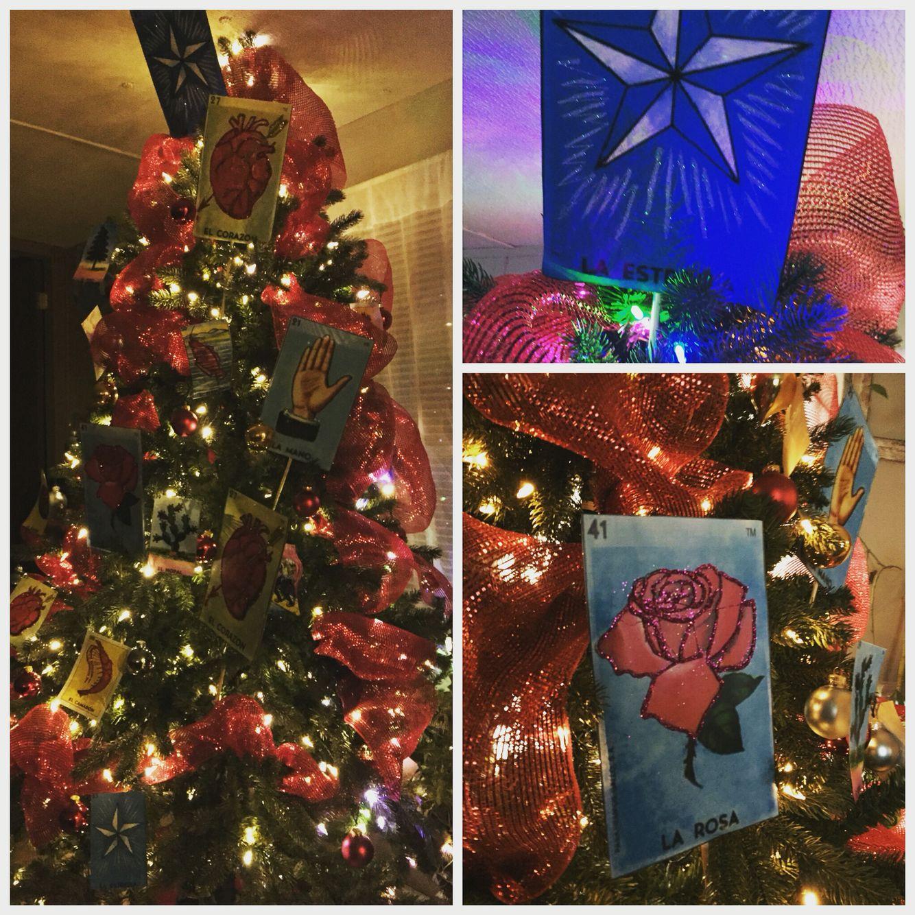 LOTERIA Christmas tree