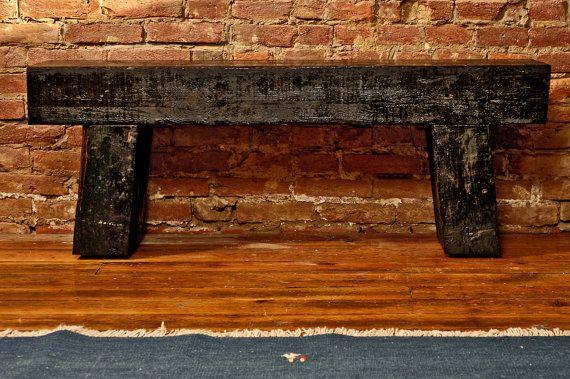 Railroad Tie Indoor Outdoor Bench By Craftworkhome On Etsy 550 00 Outdoor Bench Railroad Ties Indoor Outdoor