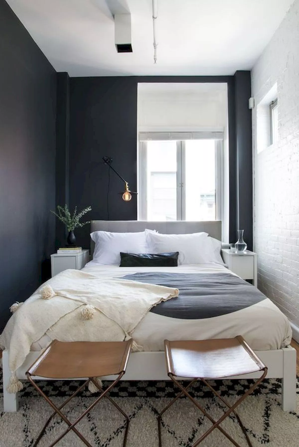 47 Wonderful Small Apartment Bedroom Design Ideas and ...