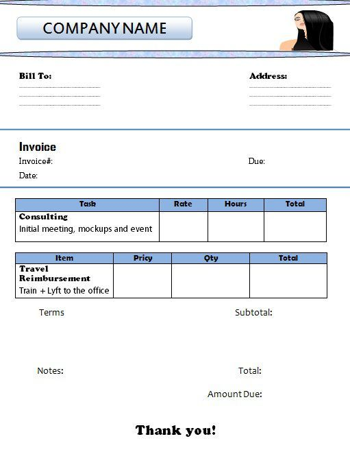 makeup artist invoice template 4th template will surprise you template sumo