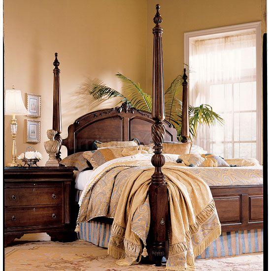 Laura Ashley Keswick Poster Bedroom Set Kincaid