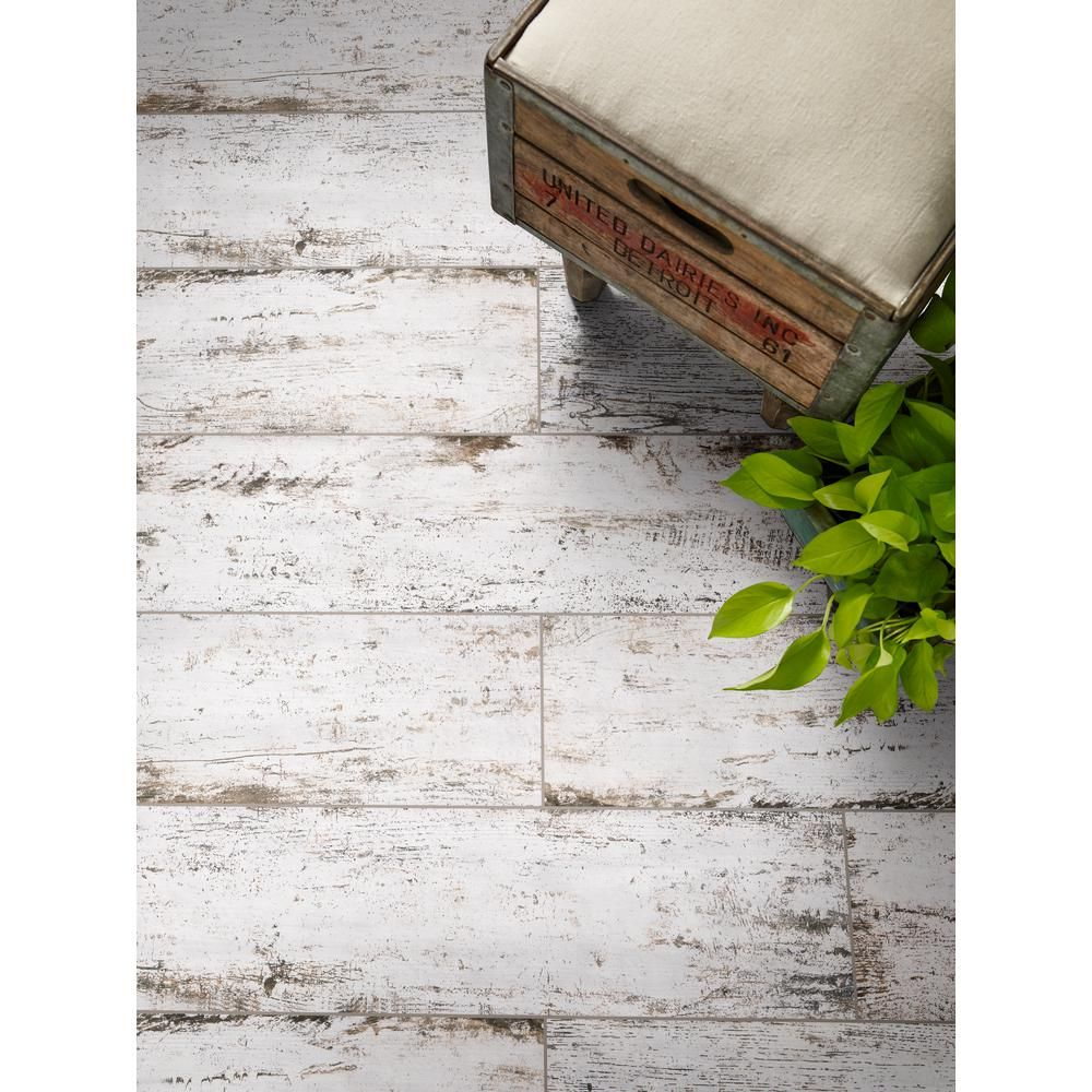 MSI Vintage Lace 8 in. x 36 in. Matte Porcelain Floor and