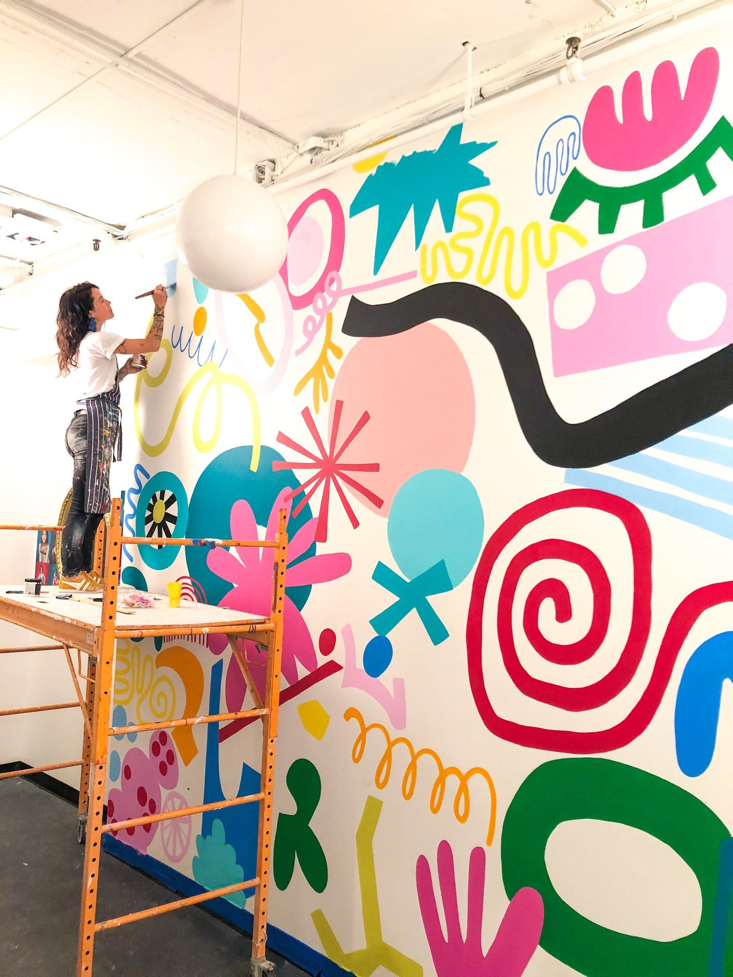 Stomping Ground Mural — Ashley Mary