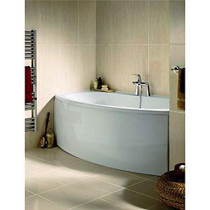 wickes romano beige gloss ceramic wall tile 600x300mm