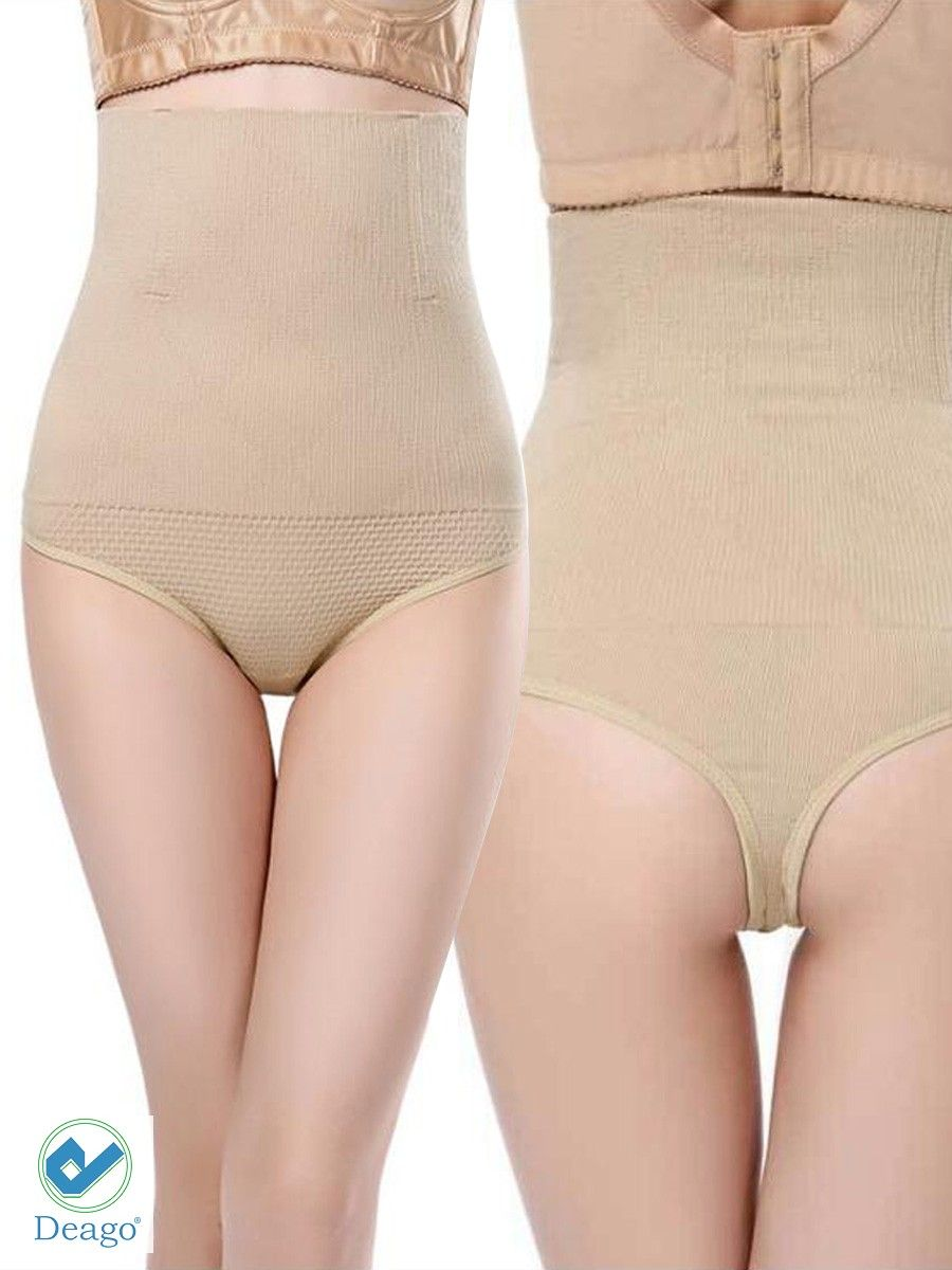 82ce33ee4528e Deago Women High Waist Thong Briefs Shapewear Body Shaper Tummy Control  Cincher Underwear Panties#Thong, #Briefs, #Shapewear