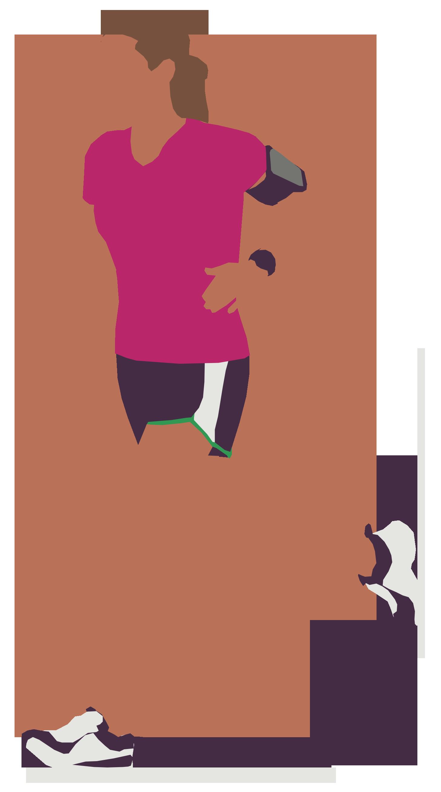 Woman Running Ilustracoes Ilustracao Desenho Grafico