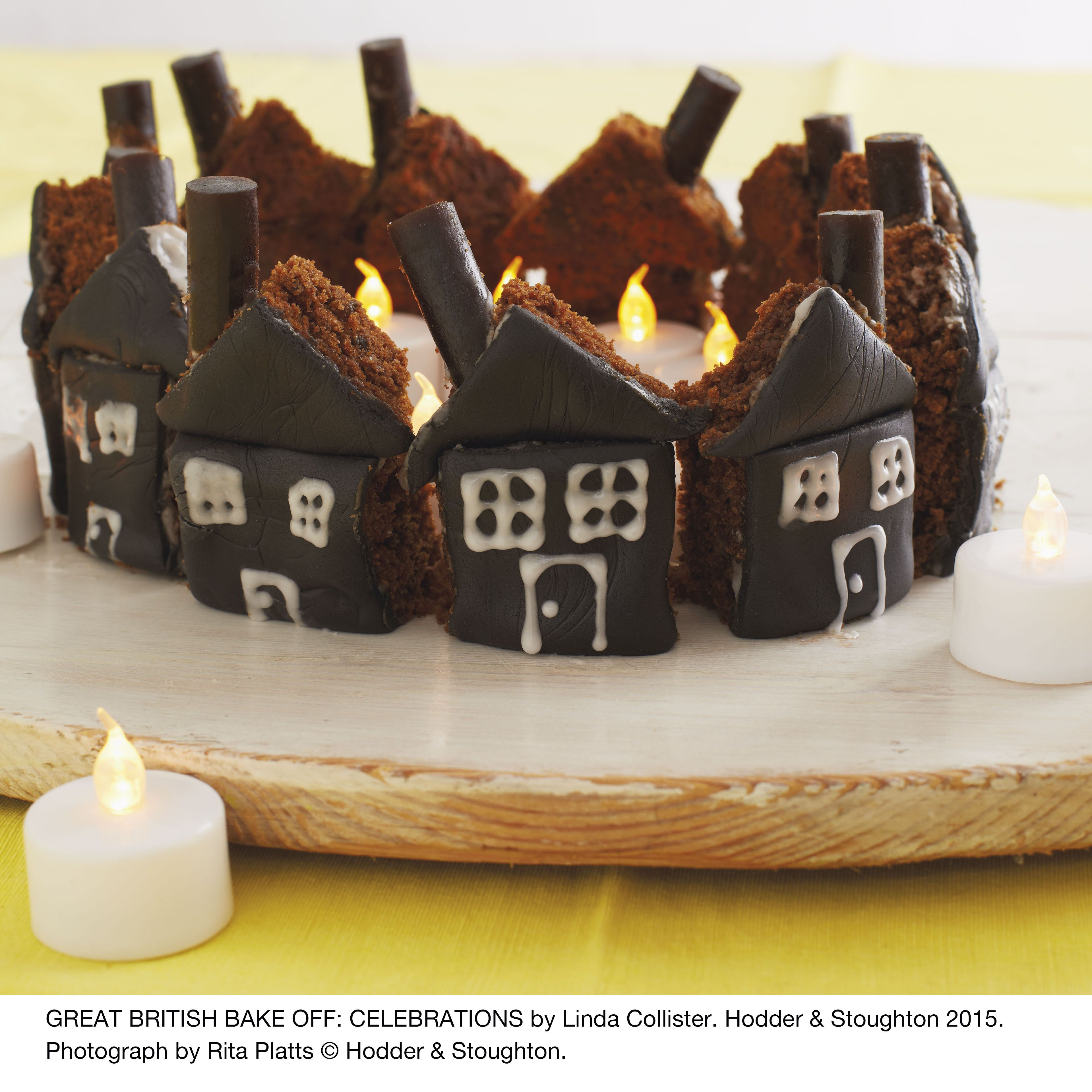 Get the recipe for this delicious haunted house Halloween