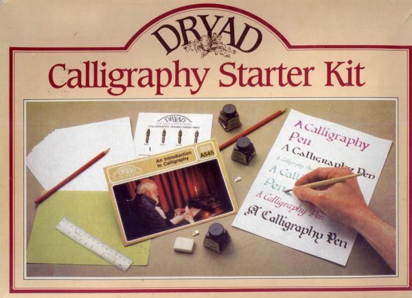 Dryad calligraphy starter kit downtown vancouver