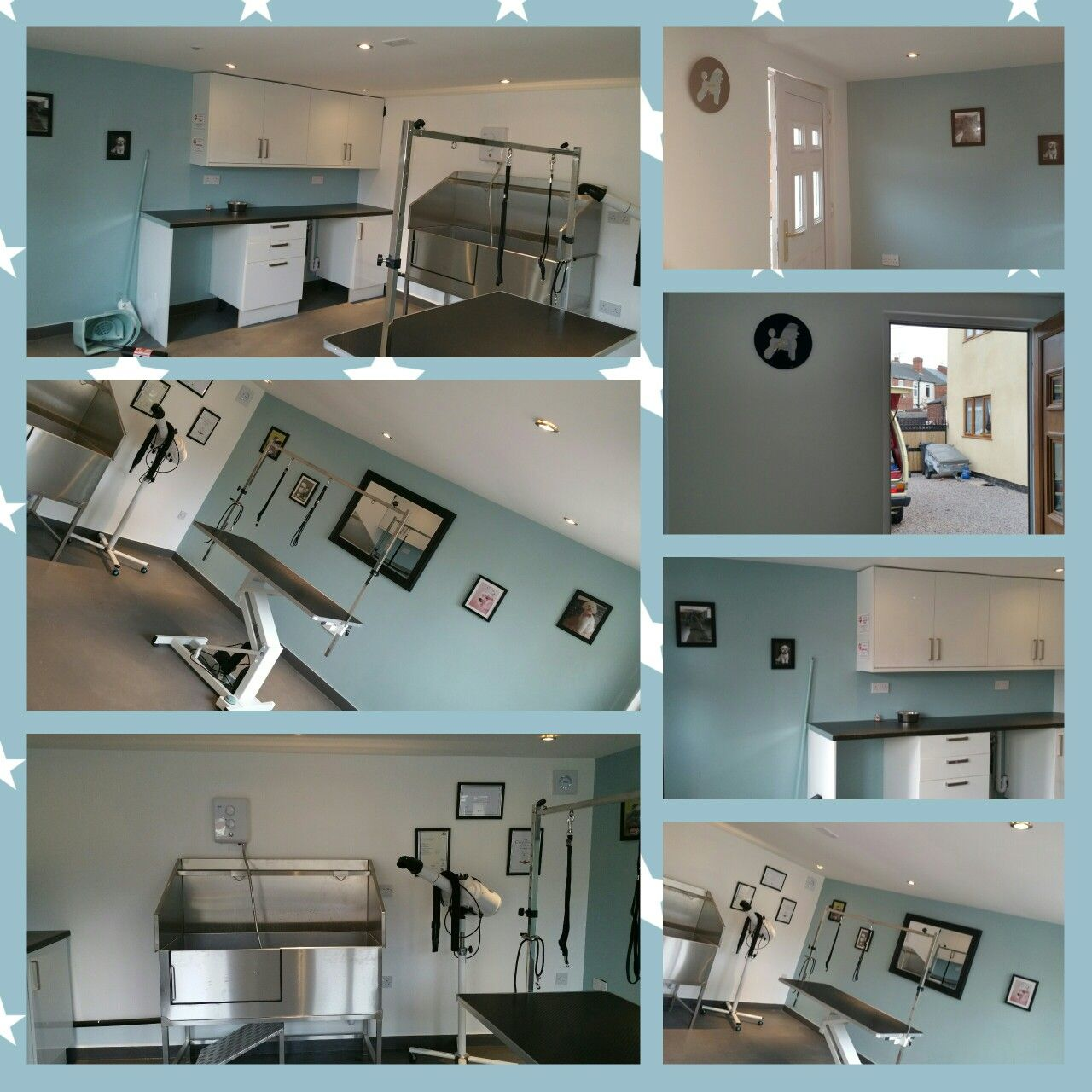 My Dog Grooming Salon All Ready To Start Doing My Dream Dog Grooming Shop Dog Grooming Salons Dog Grooming