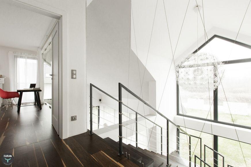 Przedpokój Na Poddaszu Hallway Dom Domy Mieszkania