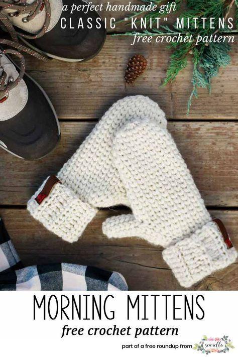 Free Crochet Patterns That Look Knit