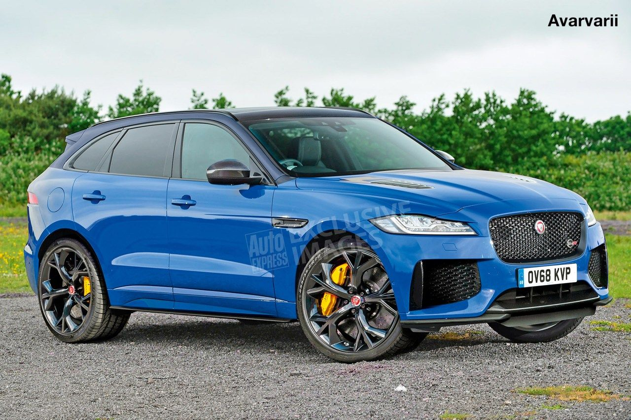 Jaguar F Pace Svr Will Be Revealed On Wednesday At New York Motor