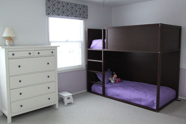Smashed Peas And Carrots: The Girls' Shared Room Reveal