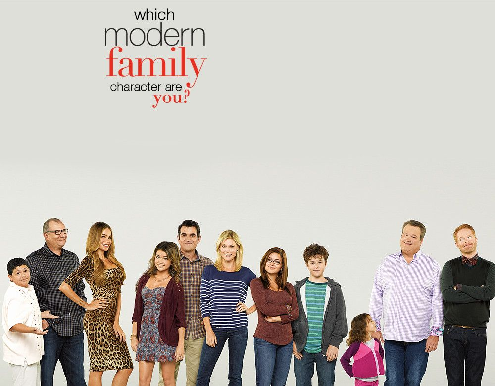 Which Modern Family Character Are You Modern Family Season 5 Family Tv Series Modern Family