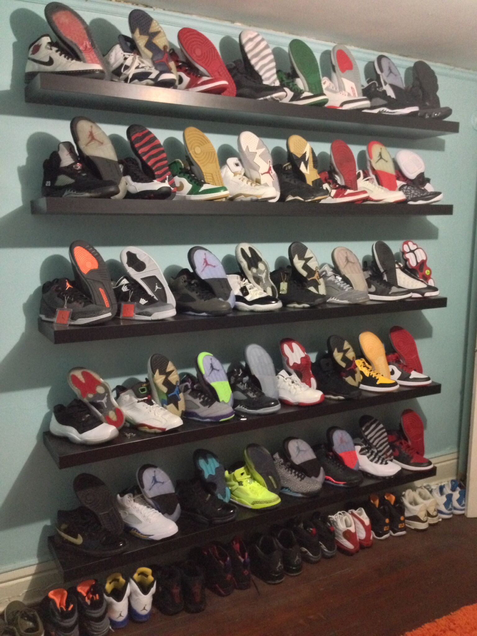 Air Jordan Collection Jordans Sneaker Closet Nike Shoes Outlet