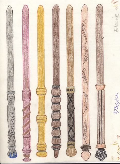 Finding My Way Ravenclaw Wand Designs Wands Ravenclaw Harry Potter Wand