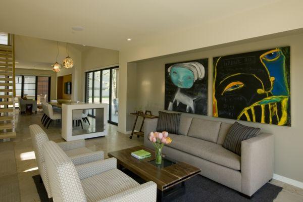 nice Wandfarben fürs Wohnzimmer u2013 100 trendy Wohnideen für Ihre - wandfarben f rs wohnzimmer