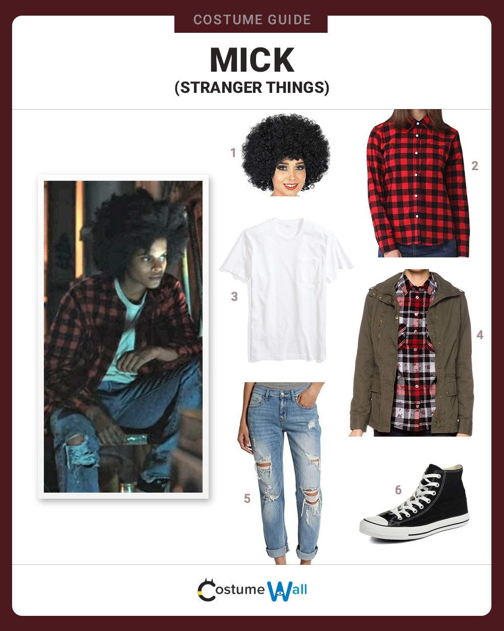 dress like mick from stranger things  costume and cosplay