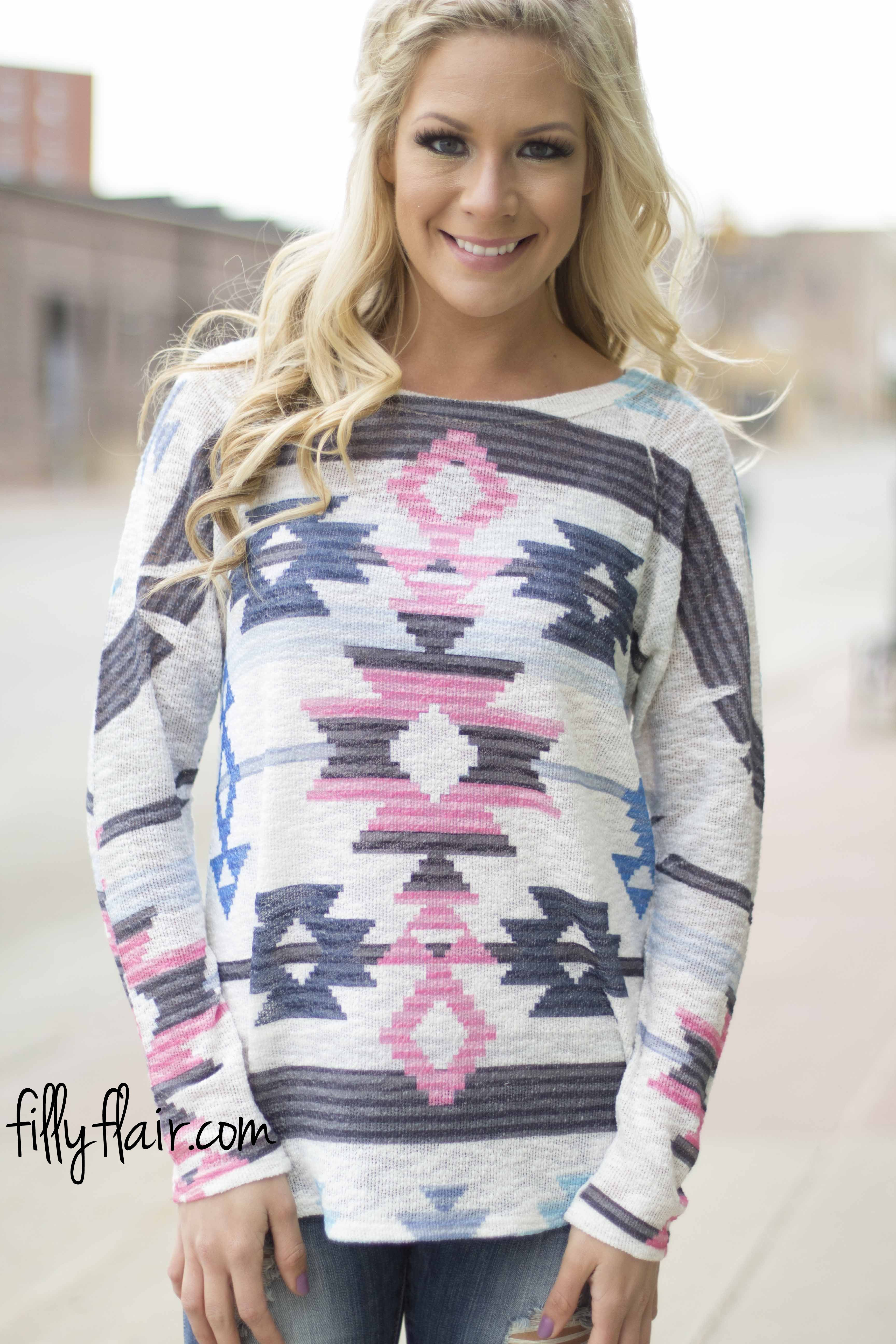 Spring Forward Long Sleeve Dolman from Filly Flair!!