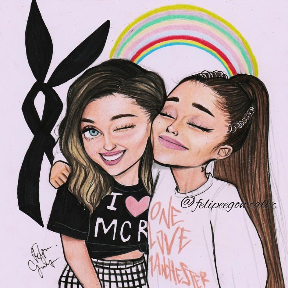 Pin By Virag Molnar On Drawing Pinterest Ariana Grande Drawings