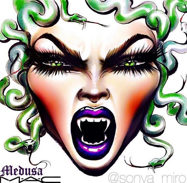 25+ Medusa face info